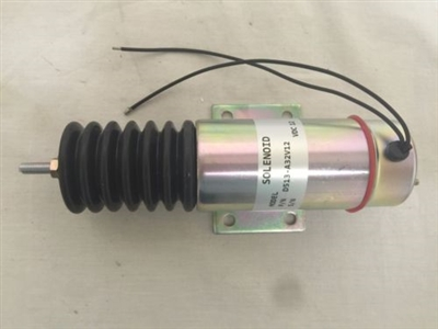 Fuel Shutoff Solenoid D513a32v12 For Trombetta 12v D513 A32v12